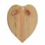 Reclaimed wooden heart with ribbon 220 x 300mm