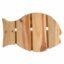 Wooden fish placemat - pot holder