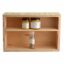 Wooden crate made from shutterply 430 x 285 x 150mm - 2 divisions